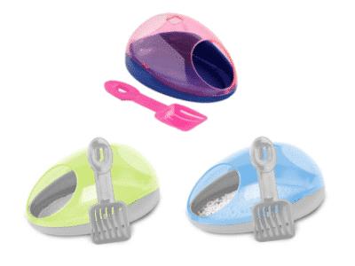 Hamster potty kit