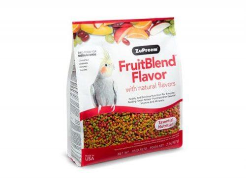FruitBlend smag med naturlige smag Nymfeparakit