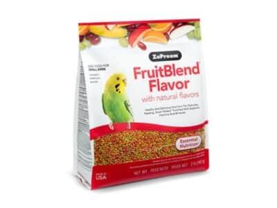 FruitBlend smag med naturlige smag undulat