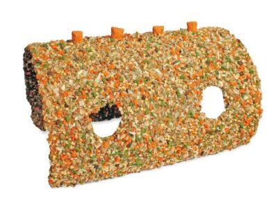 Tunnel hule med grøntsager