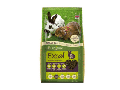 Burgess Excel Adult Rabbit med mint