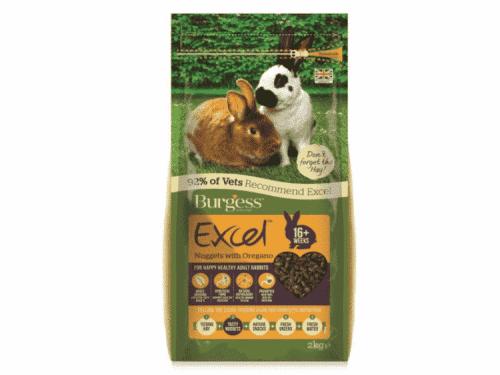 Burgess Excel Adult Rabbit med oregano