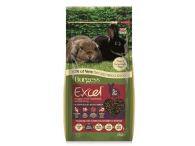Burgess Excel Mature med tranebær & ginseng