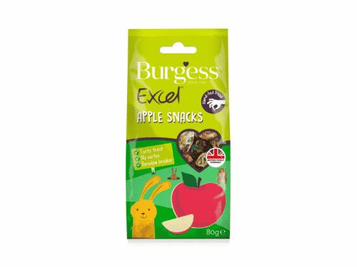 Burgess Excel Snacks Apple 80G