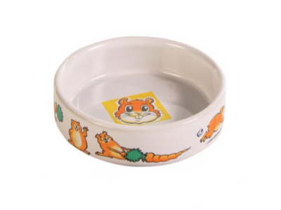 Hamster skål med motiv Ø8 cm 2