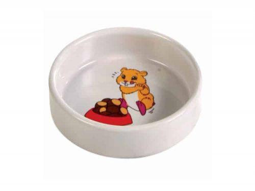 Hamster skål med motiv Ø8 cm