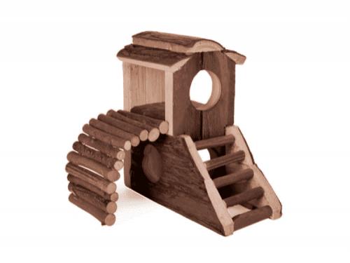 Legeplads træ slot