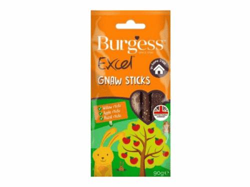 Burgess Excel Snacks Gnaw sticks 90G