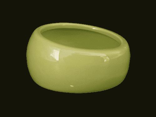 Pawise Keramikskål Grøn