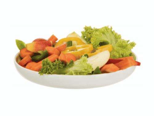 Grøntsagsskål til gnavere