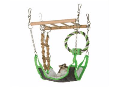Hængebro med hængekøje