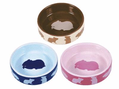 Keramik skål med hamster Ø8 cm