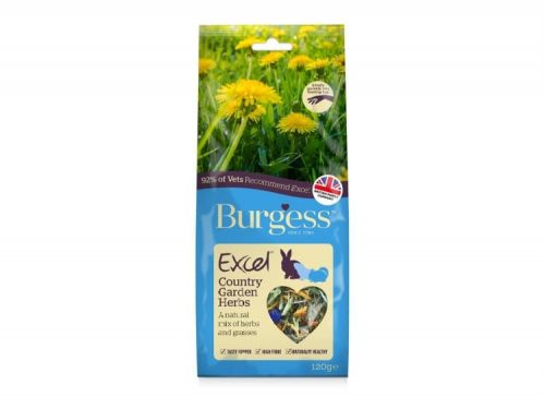 Burgess Excel Snacks Country Garden Herbs