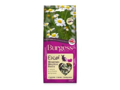 Burgess Excel Snacks Mountain Meadow Herbs