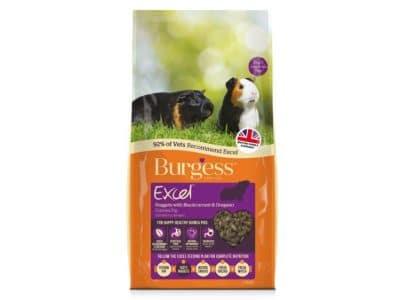Burgess Excel Marsvin Nuggets med solbær 10 kg