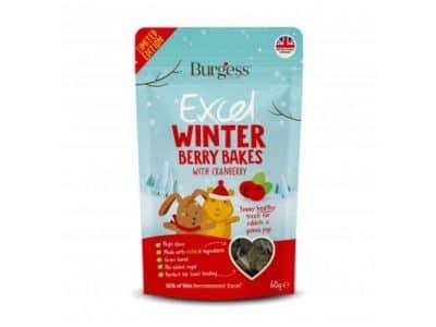 Burgess Winter Bakes med tranebær 60G