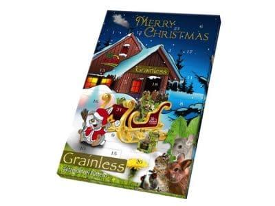 JR Farm kornfri julekalender til smådyr