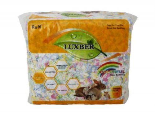 Luxber Naturligt Papirstrøelse 4.1L Multifarvet