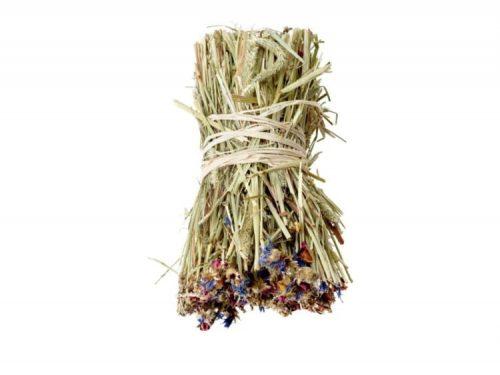 Nature snack hay bale Cornflower 55G 1