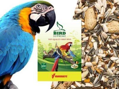 Papegøje Foder Mix med nødder 15 Kg