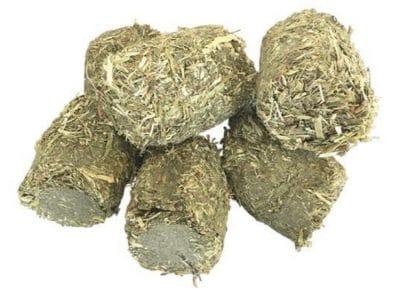 PetDK Høbidder (Alfalfa) med Gulerod og Persille
