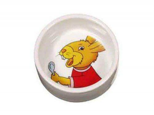 Keramik skål kanin