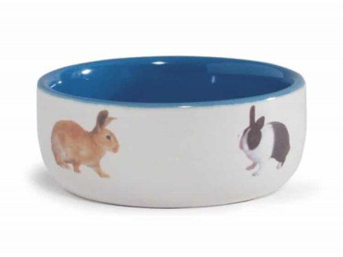 Beeztees keramikskål til kanin 11,5 cm