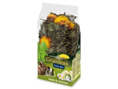 JR16127 JR Farm Grainless PLUS Kamille-Mælkebøtte100G