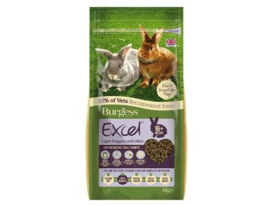 Burgess Excel Light Rabbit med mint 2kg