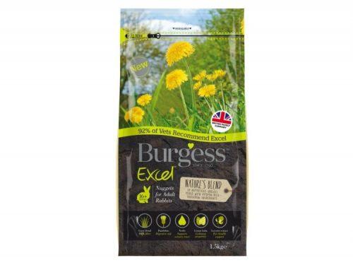 Burgess Excel Natures Blend Rabbit med mint 1.5kg