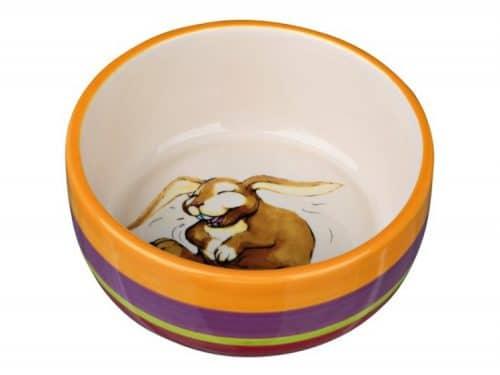 TX60803 - TRIXIE Keramik skål til kanin 250 ml ø11 cm flere farver-creme