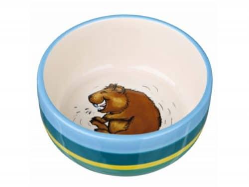 tx60802 - Keramik skål til marsvin 250 ml ø11 cm