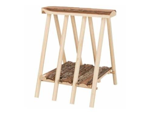 Høhæk, stående, bark, 25x11x25 cm