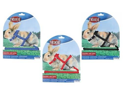 tx6150 - Kanin-marsvin sele nylon med line