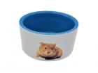 Keramikskål med hamster Ø8 cm
